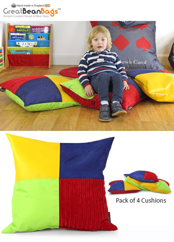 Sensory Touch Cushion - Pack of 4