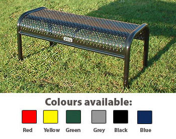 Perforated Metal Bench - 900mm