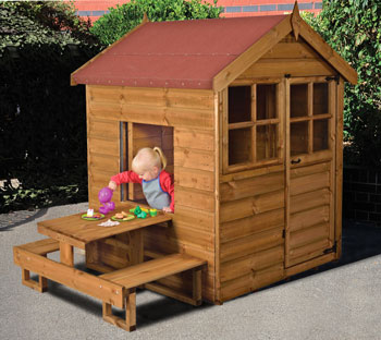 Children's Small Playhouse (Assembled on Site)