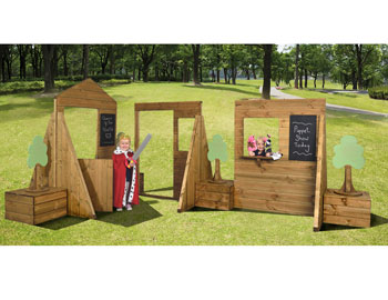 Outdoor Town Play Set (includes installation)