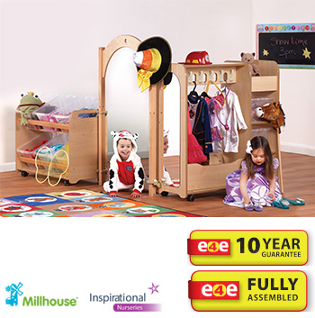 PlayScapes™ Mini Dressing Up Zone Bundle